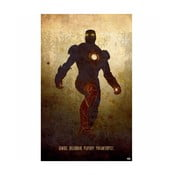 Cedule Iron Man, 56x45 cm