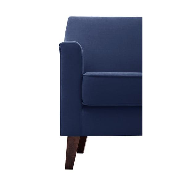 Námořnicky modré křeslo Jalouse Maison Kylie