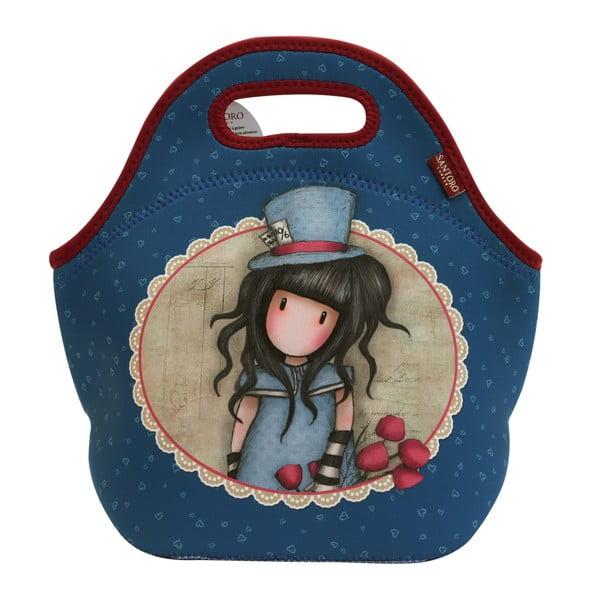 Modrá obědová taška Santoro London Rosebud