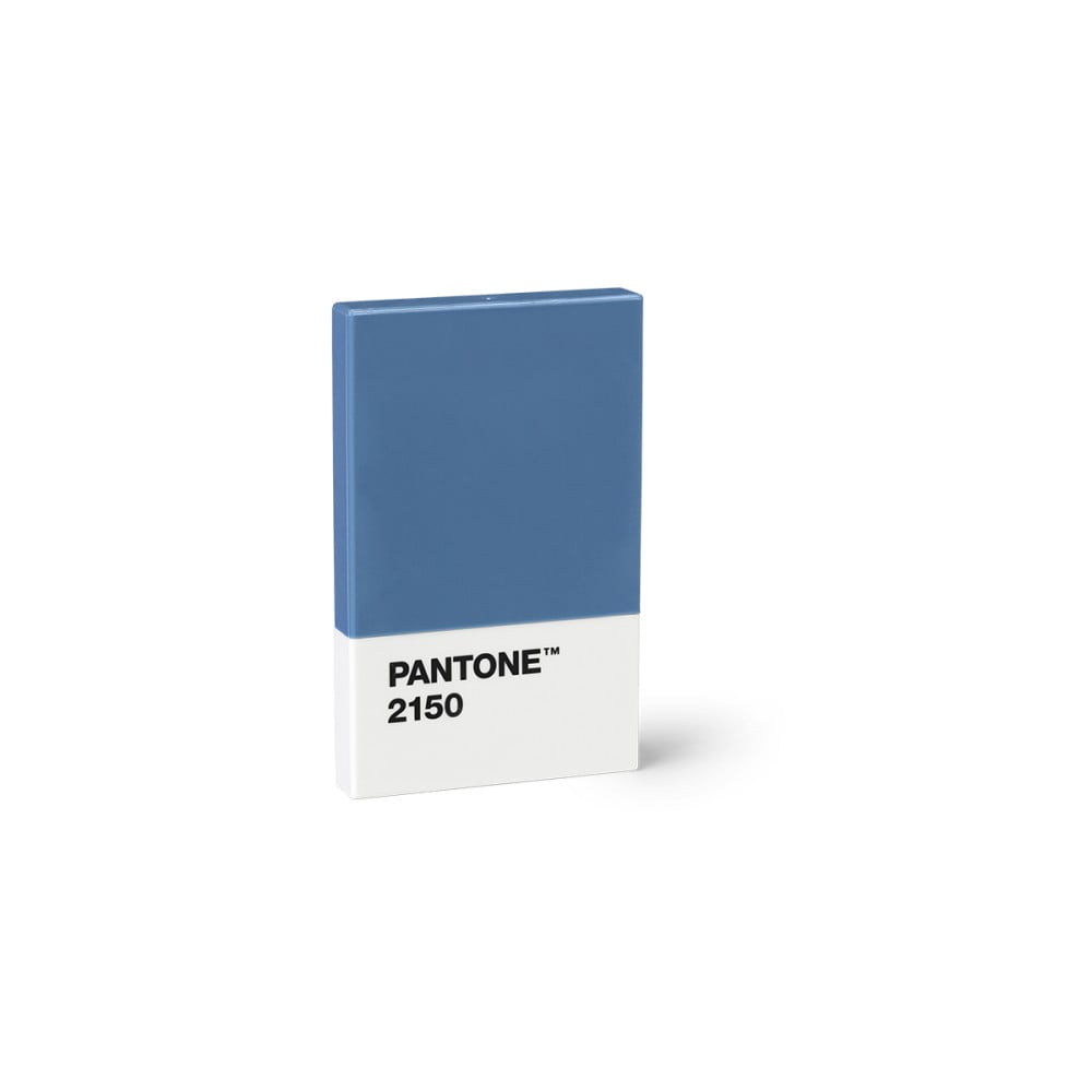 Modré pouzdro na vizitky Pantone