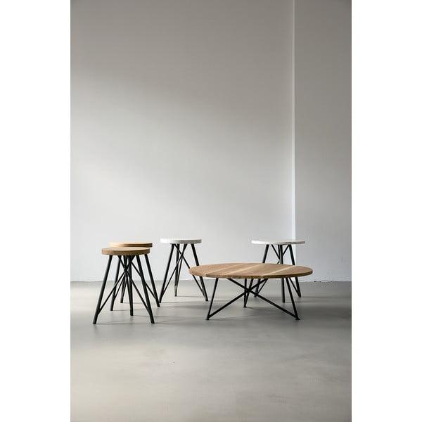 Odkládací stolek NUTSANDWOODS Marble