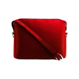 Červená kabelka z pravé kůže GIANRO' Bar
