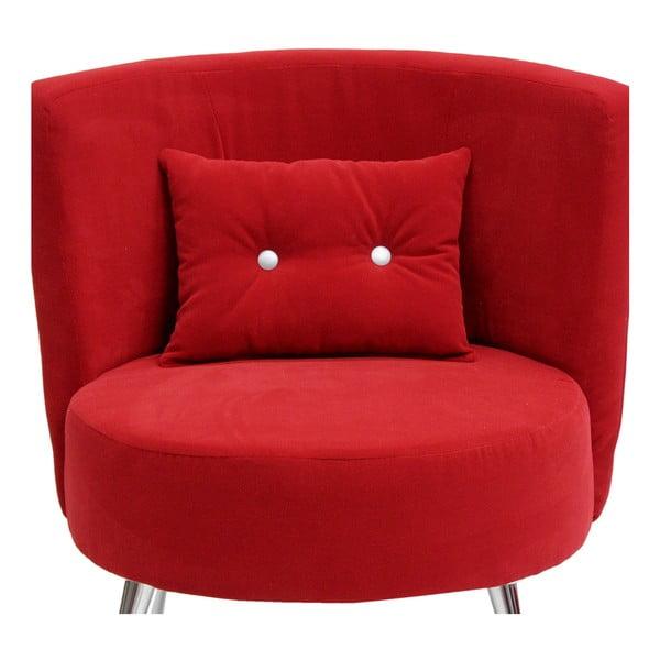Křeslo Cubi, červené