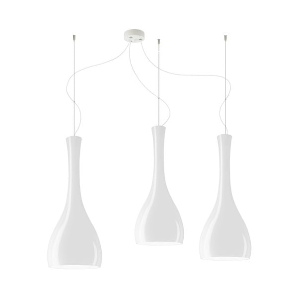 Trojité světlo ITTEKI Elementary opal glossy/white/white