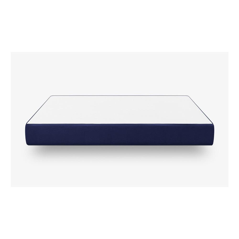 Tmavě modrá pěnová matrace muun Lite, 140 x 200 cm