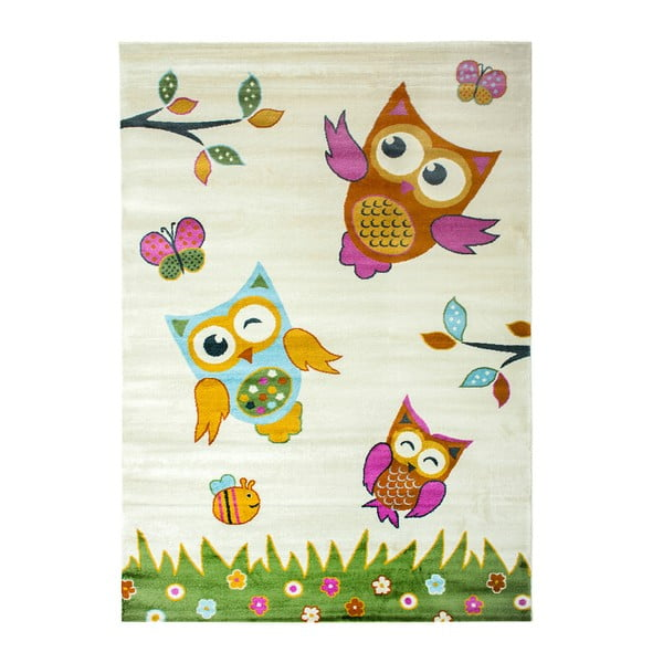 Dětský koberec Pinullo Owls, 120 x 170 cm
