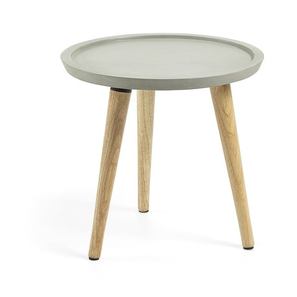 Příruční stolek s cementovou deskou La Forma Livy