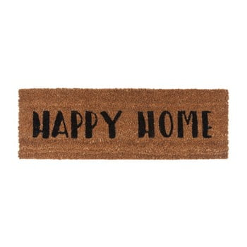 Preș PT LIVING Happy Home, 26 x 75 cm, scris negru de la PT LIVING