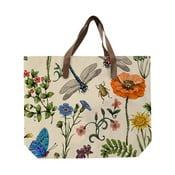 Sacoșă de pânză, model faună și flori, Surdic Bella