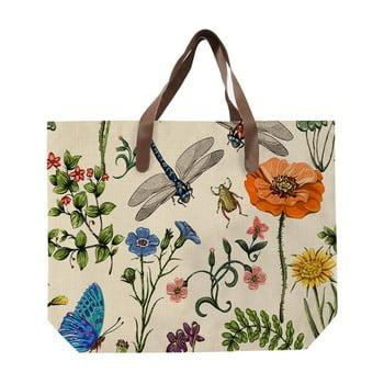 Sacoșă de pânză, model faună și flori, Surdic Bella poza