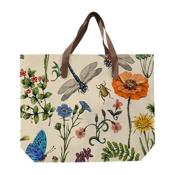 Plátěná taška s motivem fauny a flóry Surdic Bella