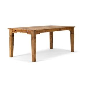 Masă dining din lemn de palisandru Sob, 140 x 90 cm