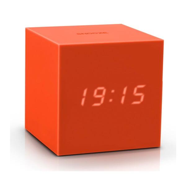Gravitry Cube narancssárga LED ébresztőóra - Gingko
