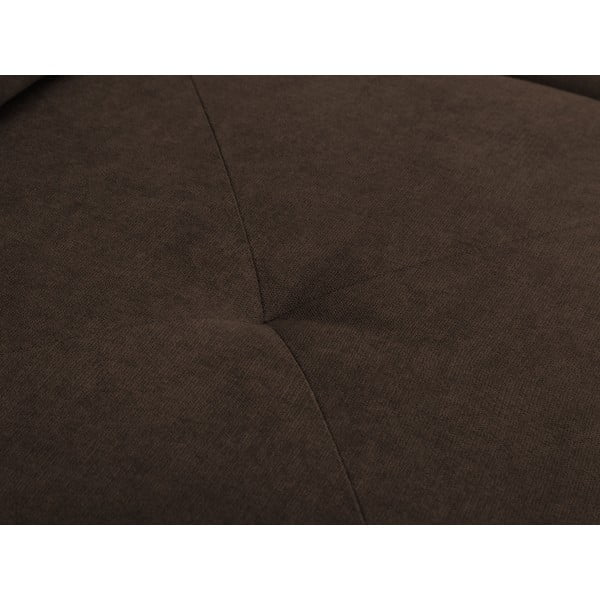 Hnědá rohová rozkládací pohovka Windsor & Co Sofas, pravý roh Beta