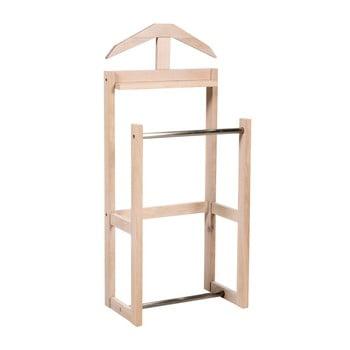 Suport din lemn de stejar mat pentru îmbrăcăminte Rowico Lofn imagine