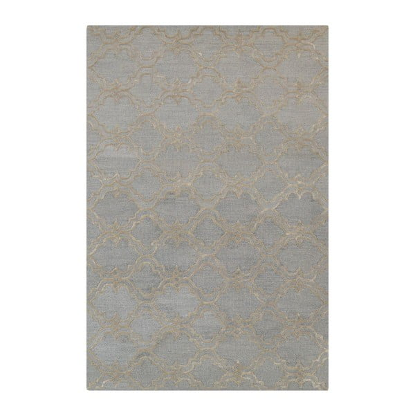 Koberec Miami Soft Light Blue/Silver, 153x244 cm