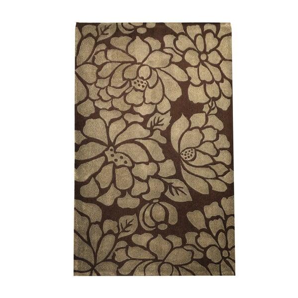 Koberec Frisse 140x200 cm, hnědý