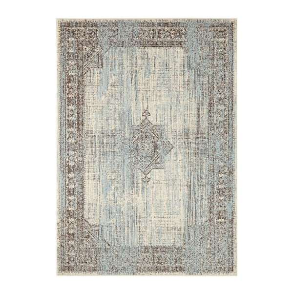 Modro-krémový koberec Hanse Home Celebration Patteo, 160 x 230 cm