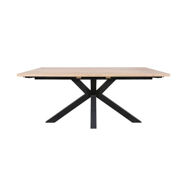 Jídelní stůl s černýma nohama Canett Maison