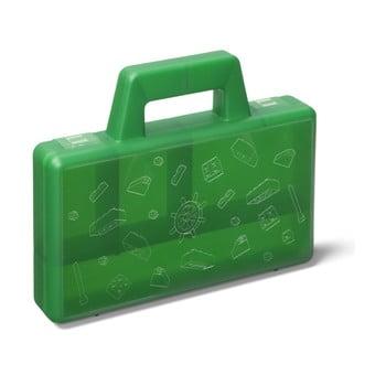 Cutie depozitare LEGO® To Go, verde de la LEGO®