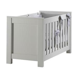 Pătuț pentru bebeluși Núvol Marta, 60 x 120 cm, alb