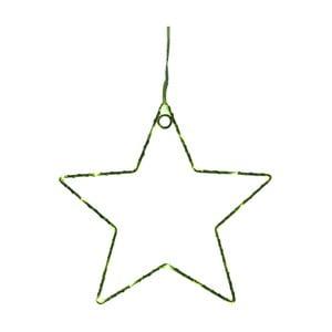 Zelená nástěnná světelná LED dekorace Opjet Paris Star