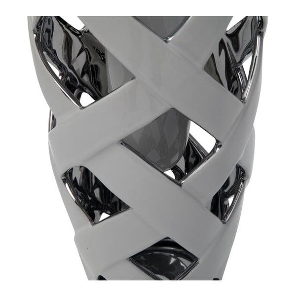 Keramická váza Mauro Ferretti Web Picc, výška 31,5 cm