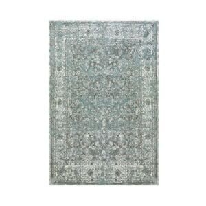 Zelený koberec Antique Green, 80x150 cm