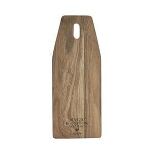 Krájecí prkénko z akátového dřeva Miss Étoile, 20 x 50 cm