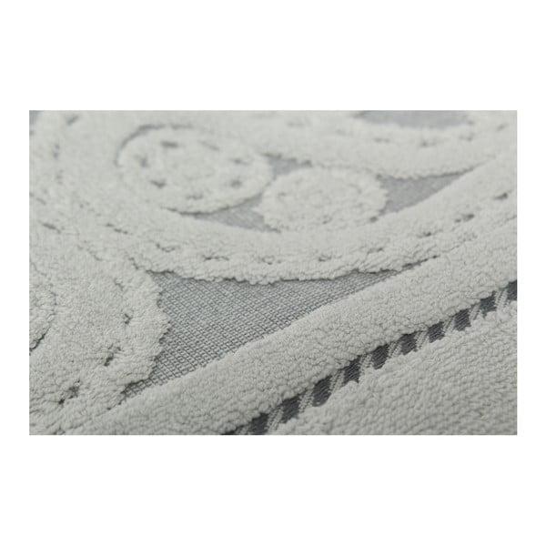 Sada 2 šedých ručníků Hurrem, 50x90cm