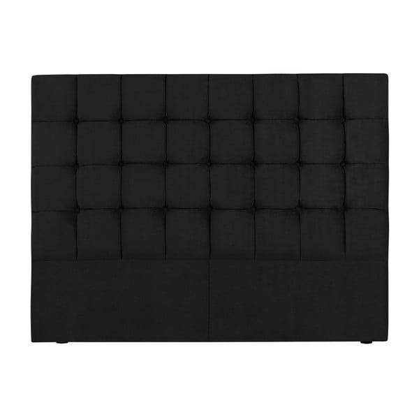 Tăblie pat Kooko Home Hasso, 120 x 140 cm, negru