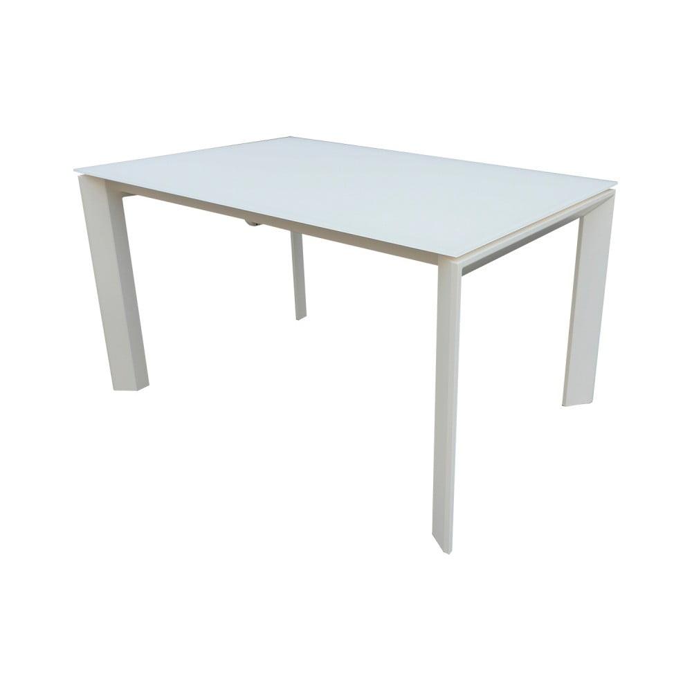 Bílý rozkládací jídelní stůl sømcasa Nicola, 140 x 90 cm