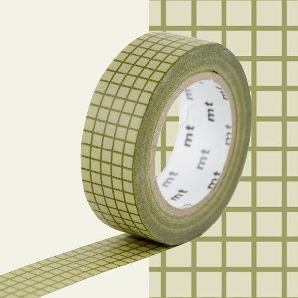 Bandă decorativă Washi MT Masking Tape Karine, rolă 10 m