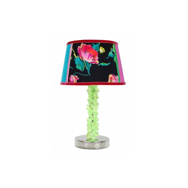 Stolní lampa Crystal Mint Rose
