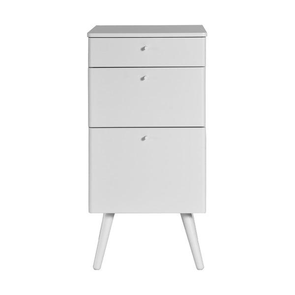 Kancelářské zásuvky Niles, 59x40 cm, bílé
