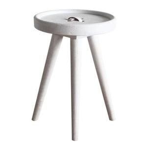 Odkládací stolek Preston Button White