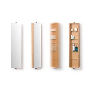 Bambusová koupelnová skříňka Wireworks Domain Bamboo, výška 110 cm