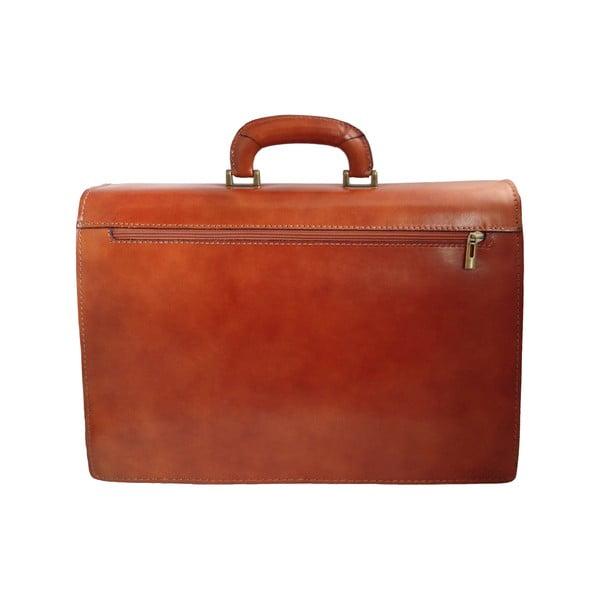 Kožený kufřík Avola, medový