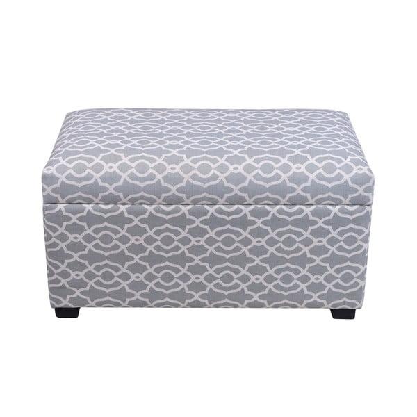 Modrá lavice s taburetkami Ewax Elegance