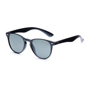 Sluneční brýle s černými obroučkami a šedými skly David LocCo Globetrotter Snazzy
