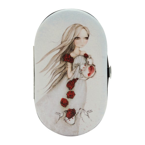 Manikúra s pouzdrem Mirabelle Rose Tea