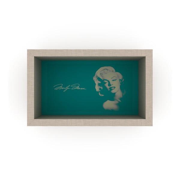 Zielona półka Rafevi Monroe