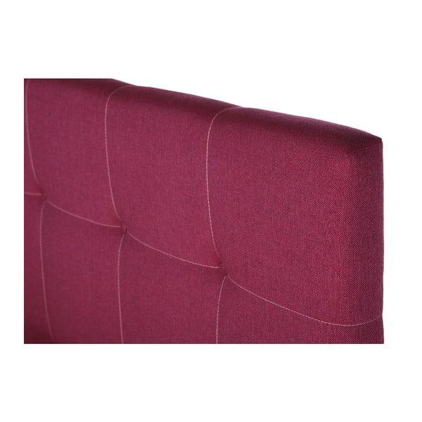 Růžová postel s matrací Stella Cadente Pluton Saches, 160x200 cm