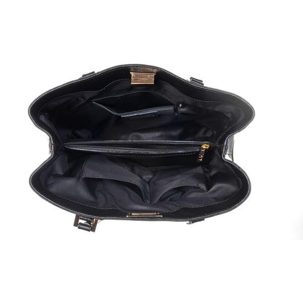 Kožená kabelka Mood Yes Black