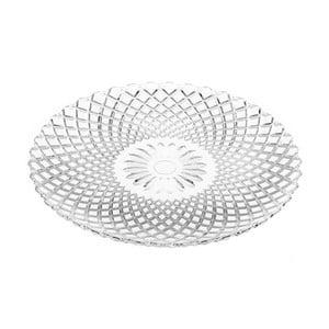 Skleněný talíř Unimasa Harlequin, průměr25,5cm