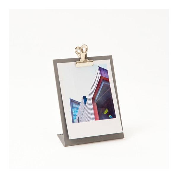 Šedý rámeček na fotku Clipboard Small