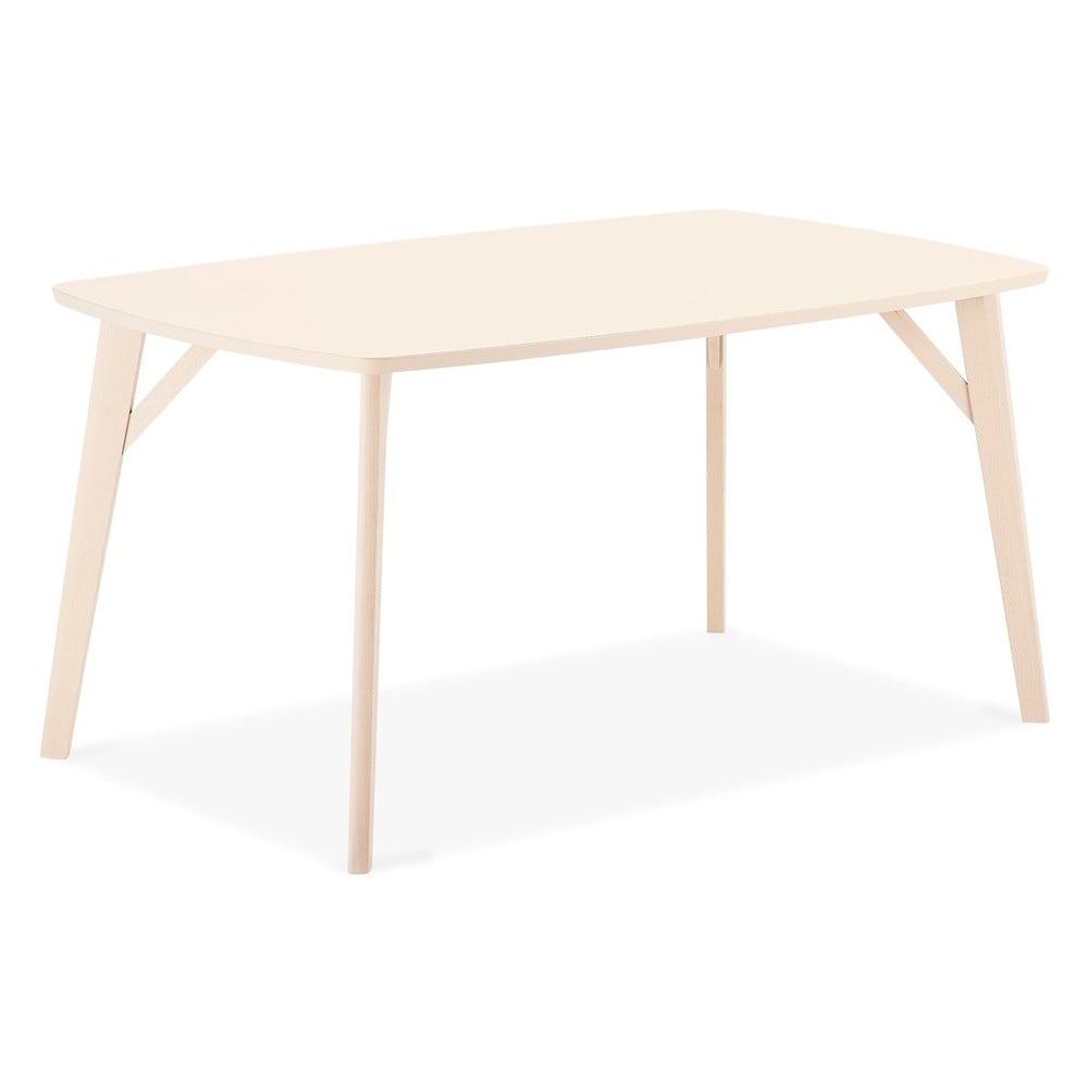 Jídelní stůl z bukového dřeva Furnhouse Penang, 150 x 90 cm