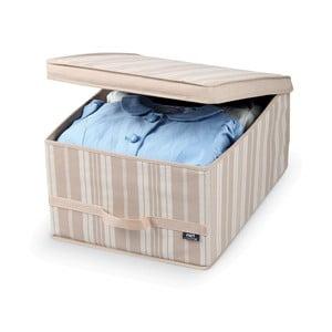 Cutie depozitare Domopak Stripes, lungime 50 cm, bej
