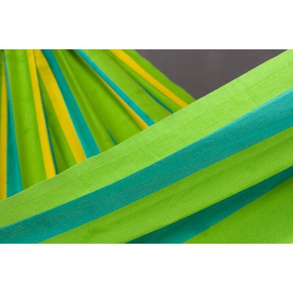 Houpací síť Sonrisa pro dva, zelená