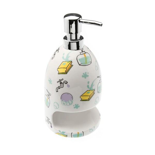 Dávkovač na mýdlo s prostorem na houbičku Splash